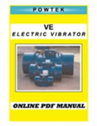 COMPLETE MANUAL FOR ELECTRIC VIBRATORS